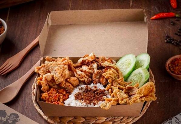 Nasi Kulit Ayam, Hobi Hingga Menjadi Bisnis yang Menghasilkan Rezeki